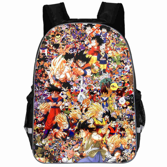 DBZ School Bags Backpack new 2019