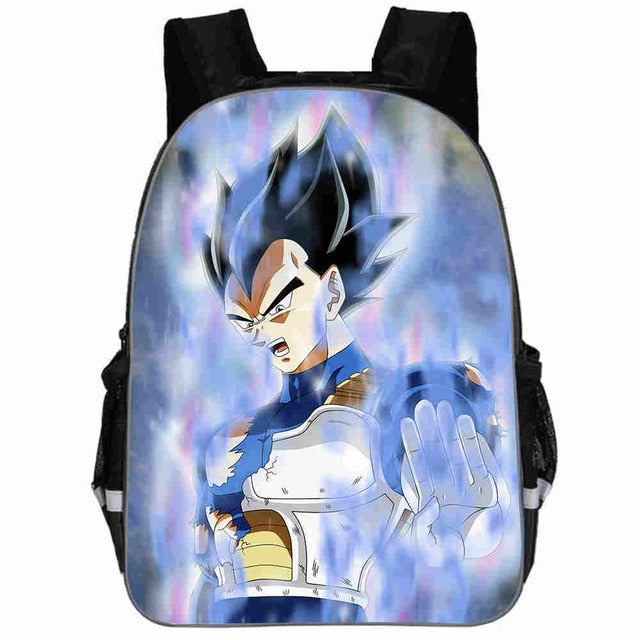 Dragon Ball Z Super Vegeta Blue SS Backpack