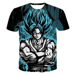 Vegeto T-shirts 3D
