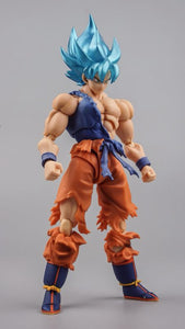 SSJ Blue Goku VegetaAction Figure Toys high quality