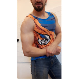 DBZ Tank Tops Men Sleeveless 09 -1