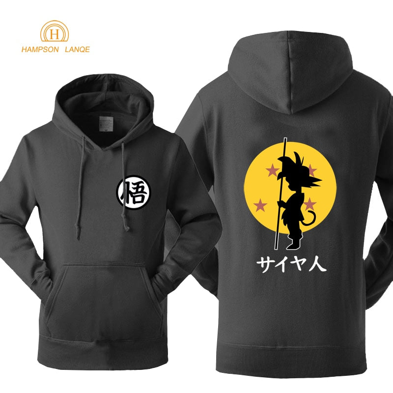 DBZ Hoodie Fashion Print 2018 Autumn Winter