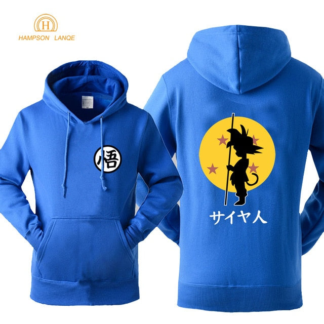 DBZ Hoodie Fashion Print 2018 Autumn Winter -3