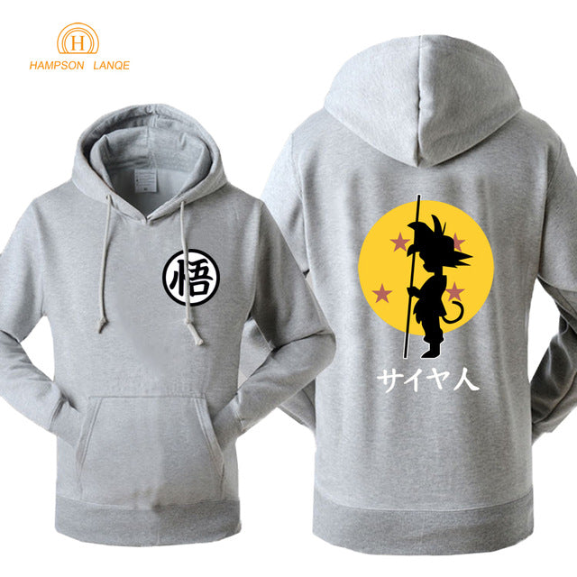 DBZ Hoodie Fashion Print 2018 Autumn Winter -7