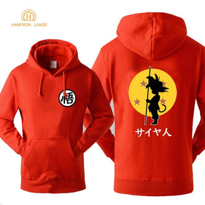 DBZ Hoodie Fashion Print 2018 Autumn Winter -5
