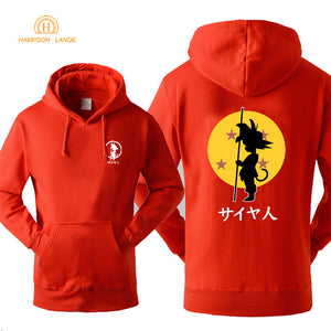 DBZ Hoodie Fashion Print 2018 Autumn Winter -10