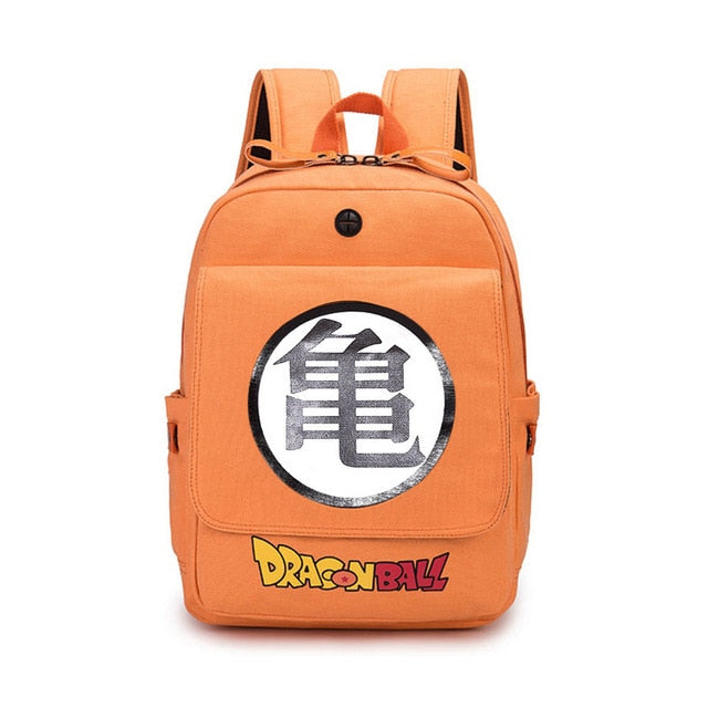 Dragon Ball Z Orange Shoulder School Bag Backpack 2019 -2