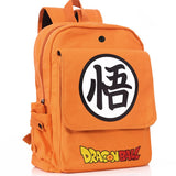 Dragon Ball Z Orange Shoulder School Bag Backpack 2019 -5