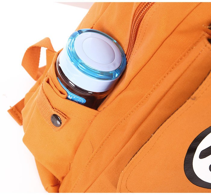 Dragon Ball Z Orange Shoulder School Bag Backpack 2019 -7