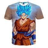 Super SaiYan Blue Goku T-Shirt 3D