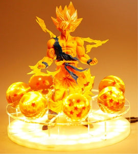 Dragon Ball Z Son Goku LED Table Lamp -2
