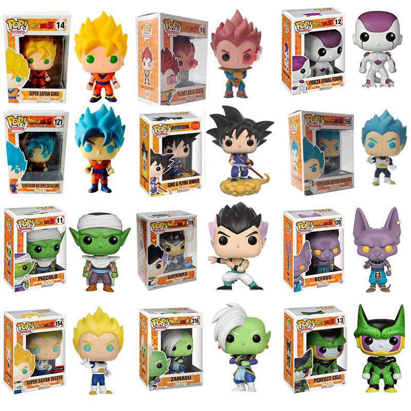 Collection Dragon Ball Z Chibi Action Figure