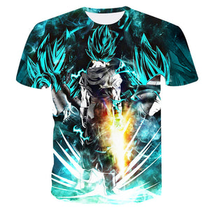 Dragon Ball Super Saiyn Goku & Vegeta T-shirt