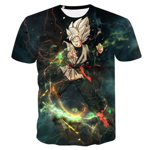 Dragon Ball Black Goku T-shirt new 2019