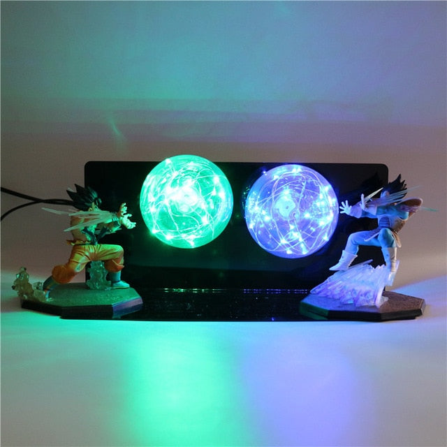GoKu VS Vegeta Action Figures Desk Lamp -9