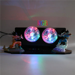 GoKu VS Vegeta Action Figures Desk Lamp -4