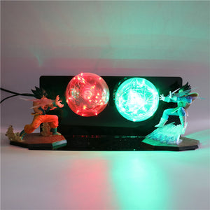 GoKu VS Vegeta Action Figures Desk Lamp -1