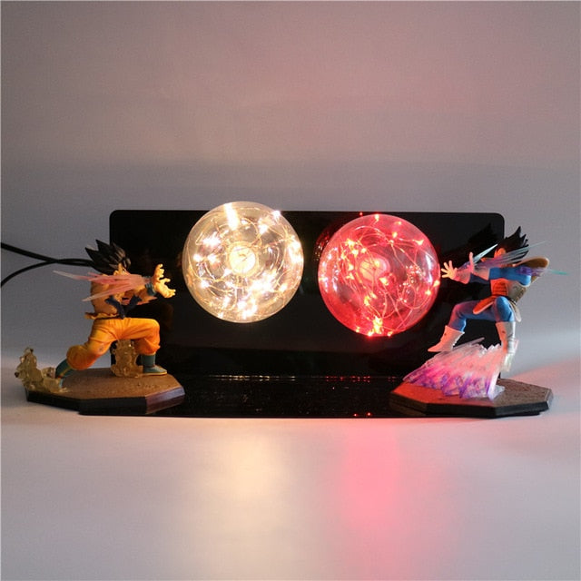 GoKu VS Vegeta Action Figures Desk Lamp -6