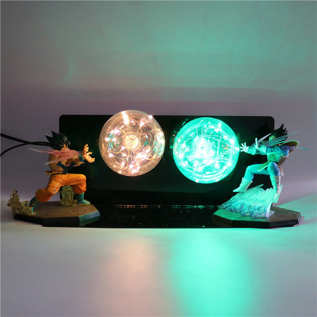 GoKu VS Vegeta Action Figures Desk Lamp -7
