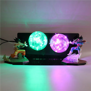 GoKu VS Vegeta Action Figures Desk Lamp -8