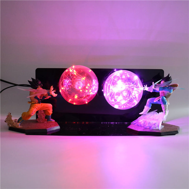 GoKu VS Vegeta Action Figures Desk Lamp -10