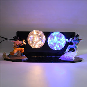 GoKu VS Vegeta Action Figures Desk Lamp -5