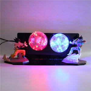 GoKu VS Vegeta Action Figures Desk Lamp -3