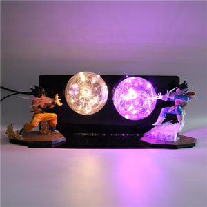 GoKu VS Vegeta Action Figures Desk Lamp -2