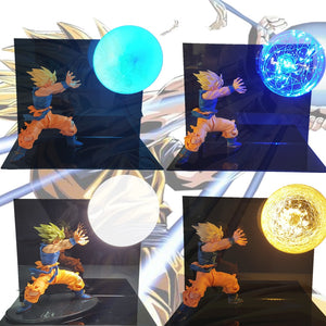 Son Goku Kamehameha Table Lamp Decorative