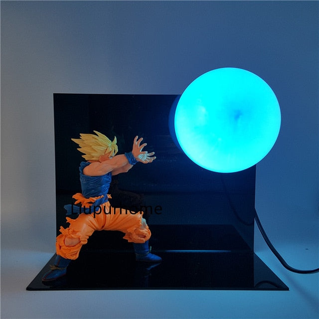 Son Goku Kamehameha Table Lamp Decorative -4