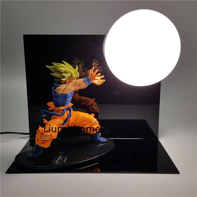 Son Goku Kamehameha Table Lamp Decorative -2