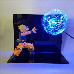 Son Goku Kamehameha Table Lamp Decorative -1