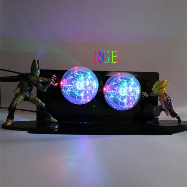 Gohan VS Cell Action Figures Lamp LED Night Light -8