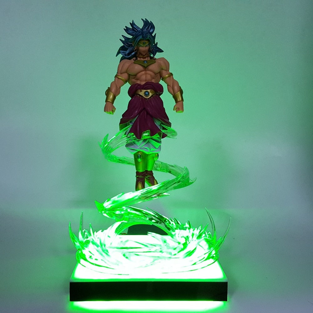 Broly Super Saiyan Flying Led Night Light Desk Lamp