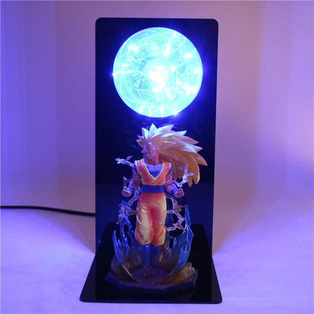 Son Goku Super Saiyan 3 Table Lamp
