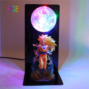 Son Goku Super Saiyan 3 Table Lamp -8
