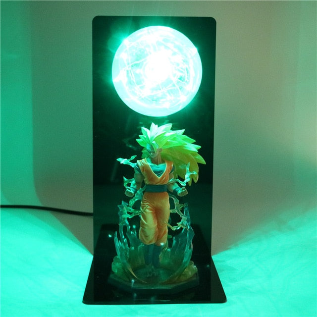 Son Goku Super Saiyan 3 Table Lamp -1