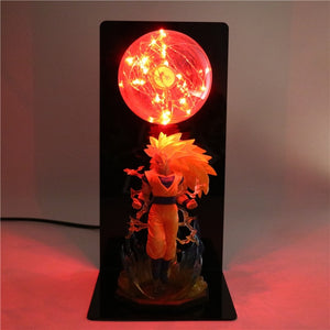 Son Goku Super Saiyan 3 Table Lamp -2