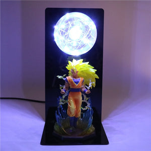 Son Goku Super Saiyan 3 Table Lamp -6
