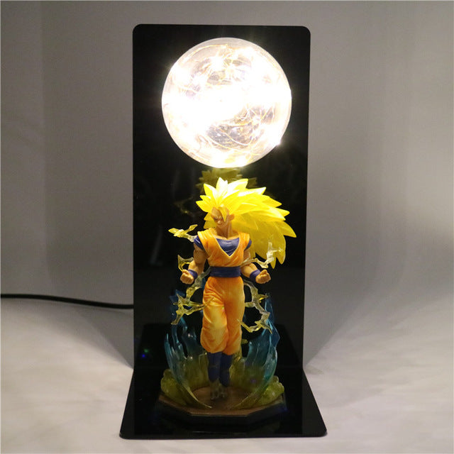 Son Goku Super Saiyan 3 Table Lamp -7