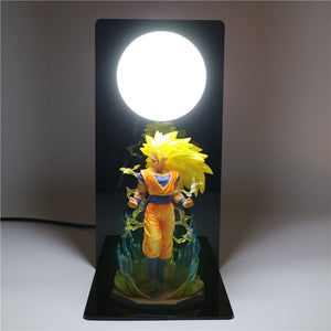 Son Goku Super Saiyan 3 Table Lamp -3