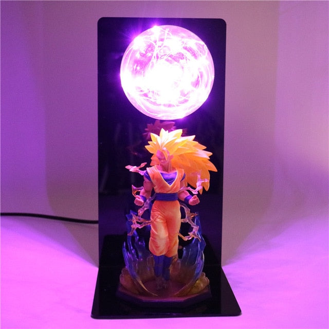 Son Goku Super Saiyan 3 Table Lamp -5