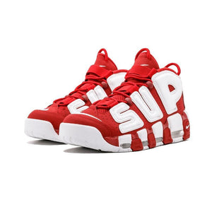 17ss Supreme x Nike Air More Uptempo 【ナイキ エア モア アップテンポ 】Red/White レッド/ホワイト