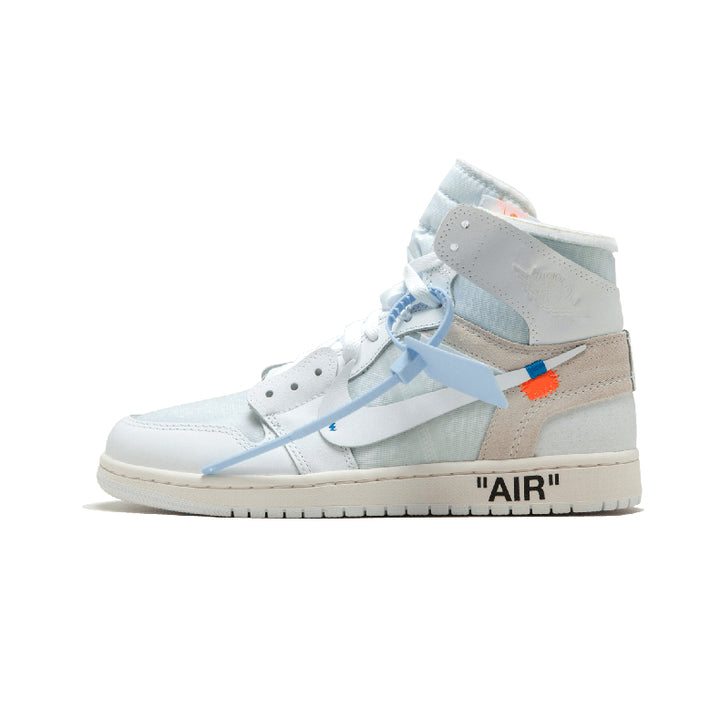 ナイキ OFF-WHITE x Air Jordan 1 Retro High OG White AQ0818-100