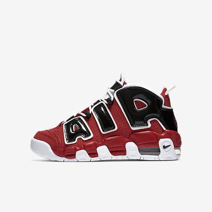 【代金引換】 大人もOK AIR MORE UPTEMPO VARSITY RED/BLACK/WHITE
