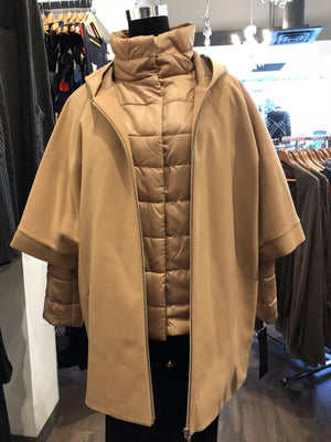 camel 3 in 1 Coat
