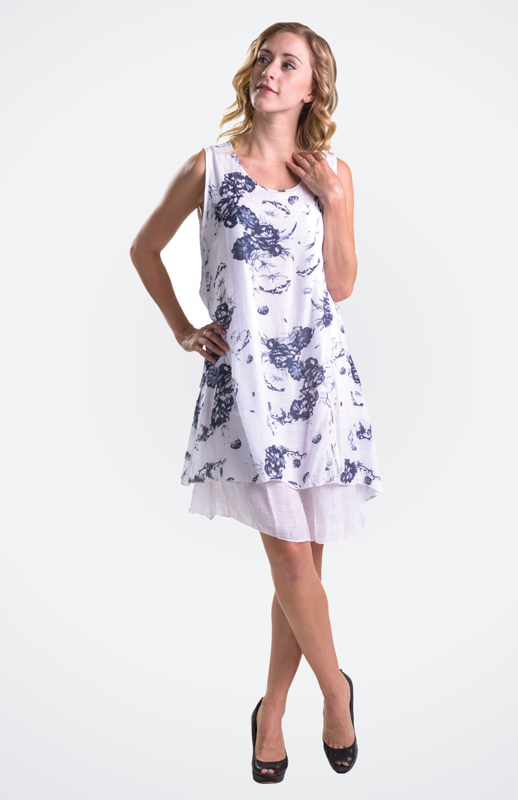 Printed Dress  NOW 40% OFF