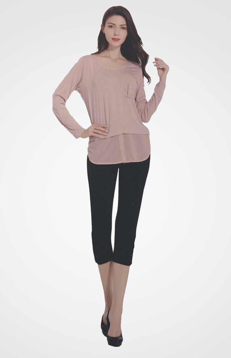 Lace Bottom Capri  NOW 20% OFF
