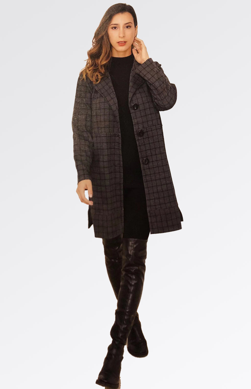 Check Coat Now 30% Off