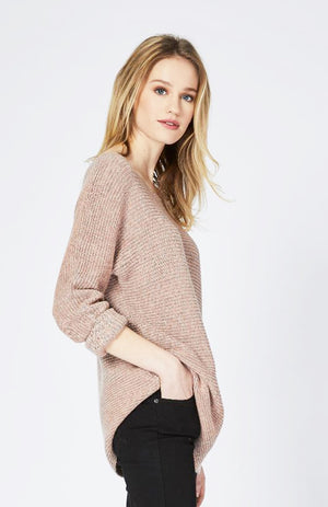 Two Tone Dolman Pullover